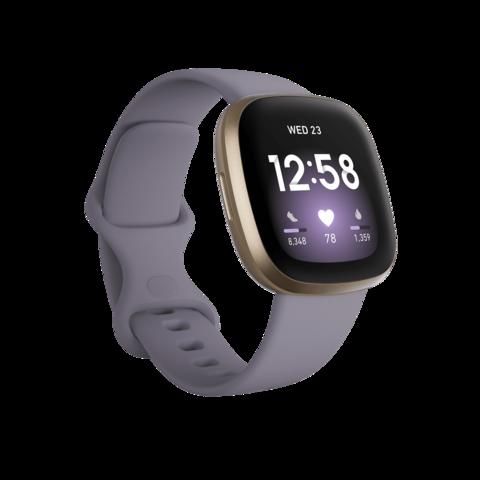 Fitbit Versa 3 фиолетовый