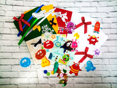 036-5521 Набор для изготовления 3 открыток