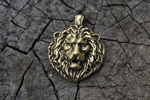 Кулон Голова Льва