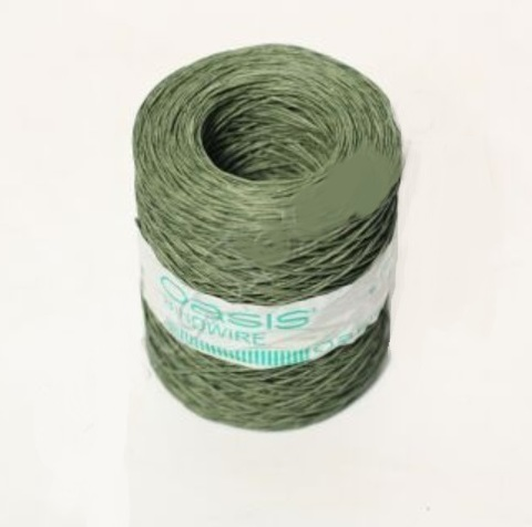Проволока с бумажным покрытием 0.4 мм 205 м зеленая