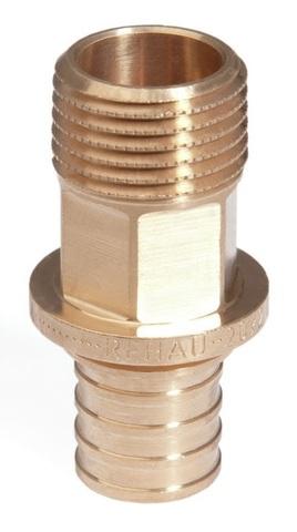 Переходник Rehau 25-R 1/2 RX с НР наружной резьбой (арт. 13660561001)