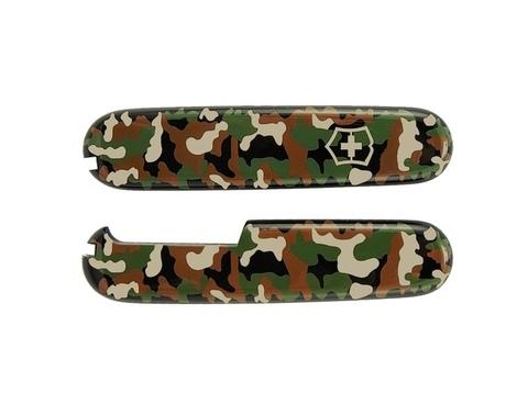 Набор накладок для ножа Victorinox 91 мм., цвет - камуфляж (camouflage)
