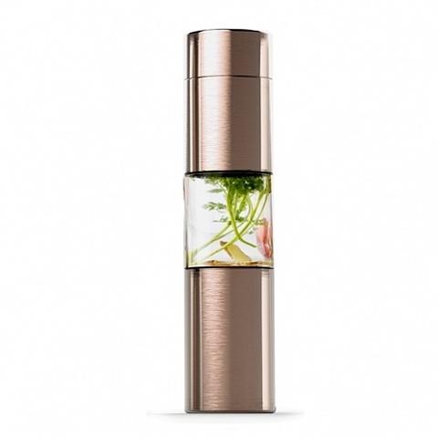 Бутылка Asobu Flavor U See (0,46 литра), золотистая