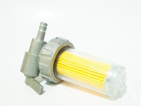 R180-R190-R195 Кран топливный в сборе с фильтром
