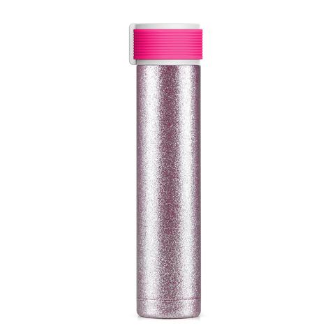 Мини-термос Asobu Skinny Glitter (0,23 литра), розовый