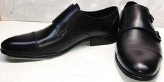 Деловые туфли мужские кожаные классические Ikoc 2205-1 BLC.