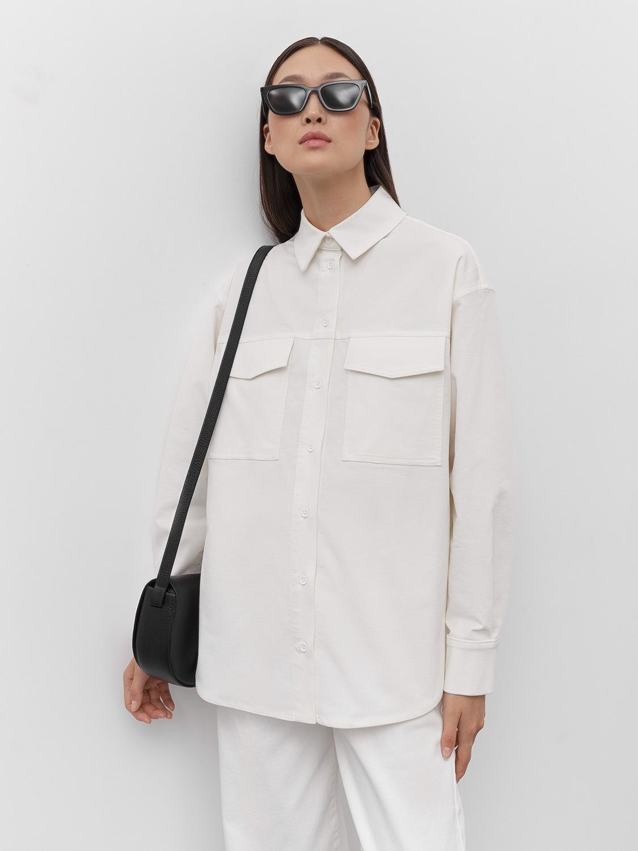 Рубашка Gabriel с накладными карманами