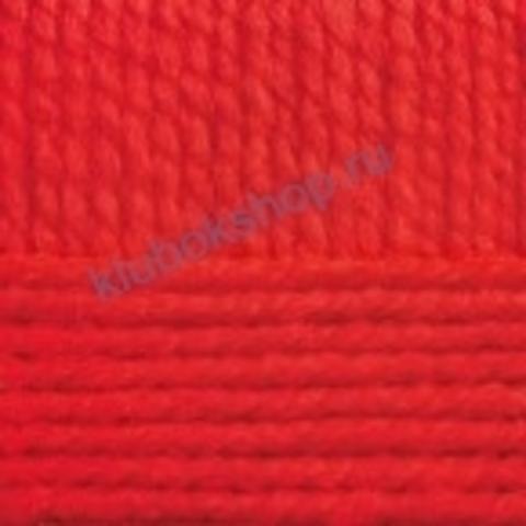 Пряжа Осенняя (Пехорка) цвет 88 красный мак