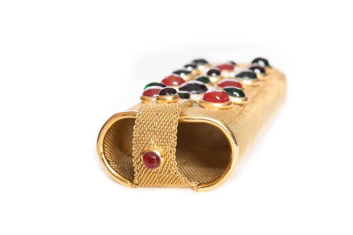 Эксклюзивная сумка-клатч с Грипуа от Chanel