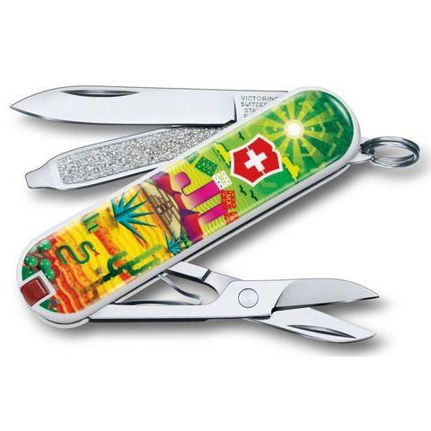 Нож перочинный Victorinox Classic (0.6223.L1807) Mexican Sunset 58мм 7функций микс