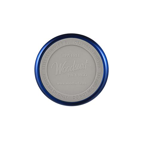 Термокружка Woodsurf Quick Open (0,48 литра), синяя