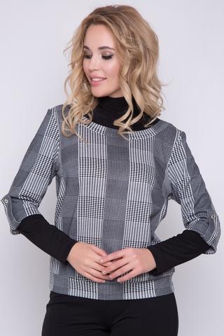 <p>Хит продаж! Имитация водолазки и модного жилета в клетку - отличное решение для зимнего гардероба успешной леди!</p>
