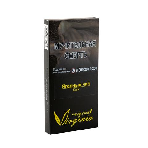 Табак Virginia Dark Ягодный чай (Пряный Сладкий Ягодный Чай) 50 г