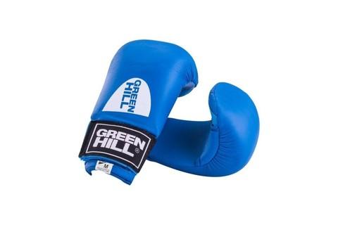 Накладки на кисть Green Hill COBRA KMС-6083, к/з, синий (L)/Сфит (Green Hill COBRA KMС-6083-синий)