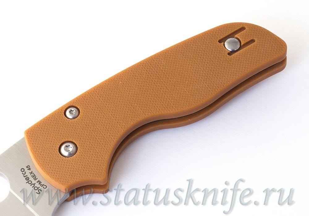 Нож Spyderco C230GPBORE Native REX45 - фотография