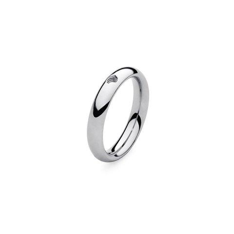 Кольцо - база Basic small silver 17.8 мм 627043 S
