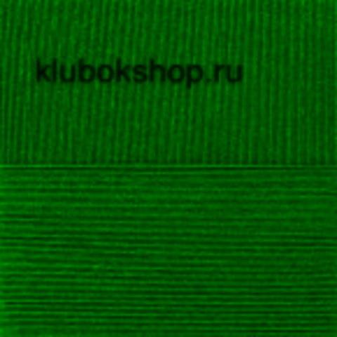 Пряжа Кружевная (Пехорка) цвет 742 бильярд