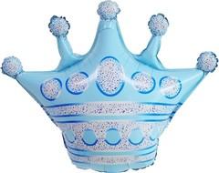 К Фигура, Корона, Голубой, 30''/76см.