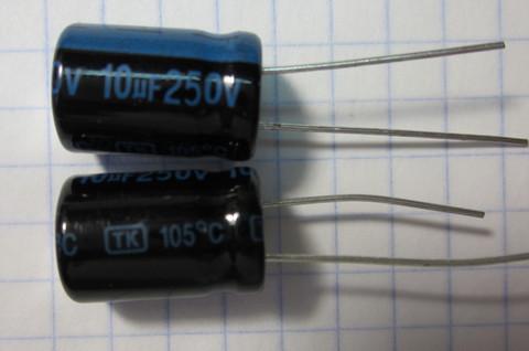 10,0x250В 105С