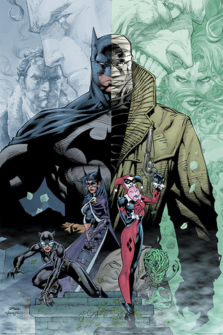 Постер Maxi Pyramid: DC: Batman (Hush)