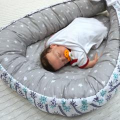 Farla. Кокон-гнездо для младенца Nest Морской сон вид 3