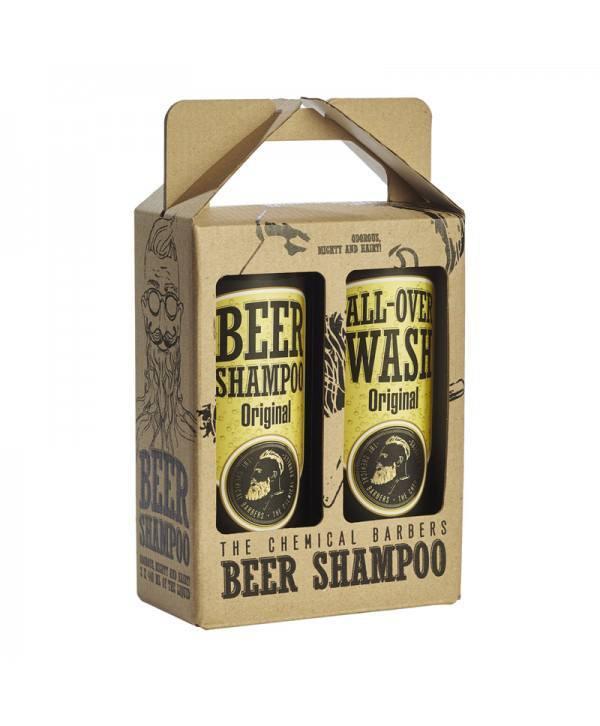 Набор CHEMICAL BARBERS Beer Shampoo Original & All Over Wash
