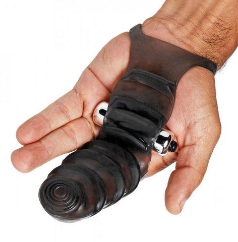 Насадка на палец для стимуляции точки G, 15.5 см - Master Series