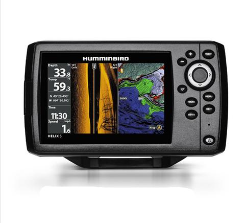 Эхолот-картплоттер Humminbird Helix 5x CHIRP SI GPS G2
