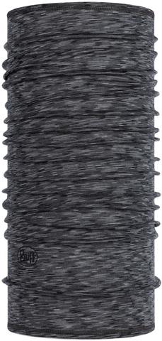 Тонкий шерстяной шарф-труба Buff Wool lightweight Graphite Multi Stripes фото 1