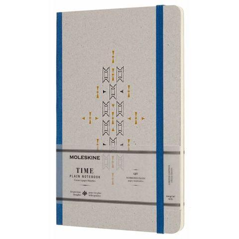 Блокнот Moleskine Limited Edition TIME NOTEBOOKS LCTM33B Large 130х210мм обложка картон 140стр. линейка синий