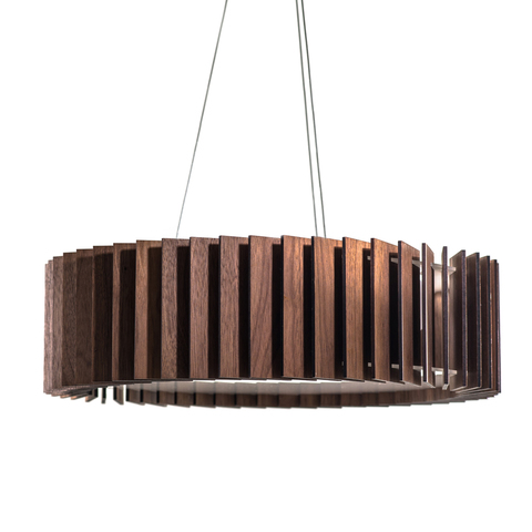Подвесной светильник Woodled Ротор, маленький