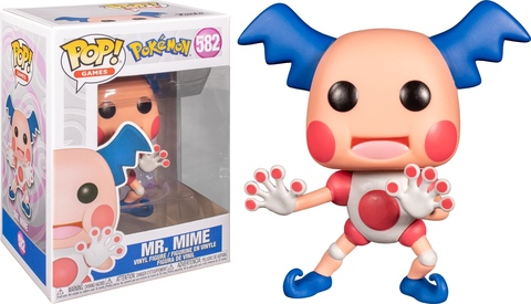 Mr. Mime (Pokemon) Funko Pop! Vinyl Figure