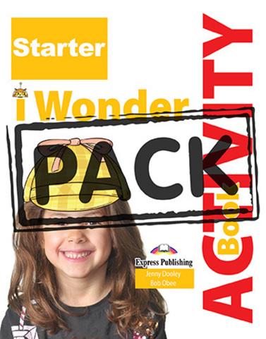 i-Wonder Starter. Activity book (with digibooks app.) (international). Рабочая тетрадь (с ссылкой на электронное приложение)