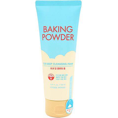 Etude House Пенка для умывания и глубокой очистки - Baking powder BB deep cleansing foam, 160мл
