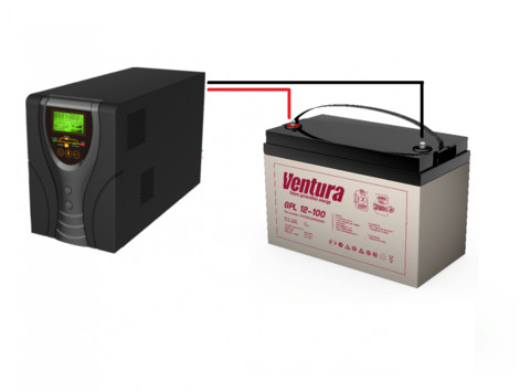 Комплект ИБП ECOVOLT SOLO 812+VENTURA GPL12-100