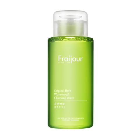 Жидкость для снятия макияжа Fraijour РАСТИТЕЛЬНЫЕ ЭКСТРАКТЫ Original Herb Wormwood Cleansing Water, 300 мл