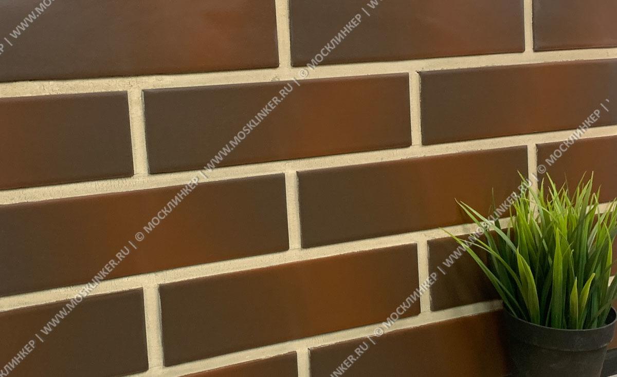 Paradyz - Cloud Brown, гладкая, 24,5х6,5 - Клинкерная плитка для фасада и внутренней отделки