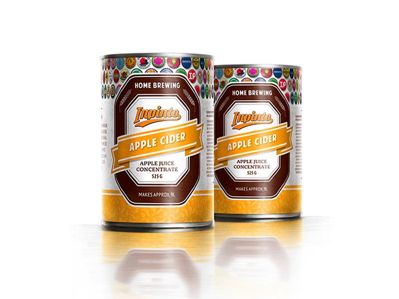 Экстракты Набор для приготовления сидра Inpinto Apple Cider 000820_1.jpg