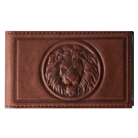 Визитница карманная «Royal». Цвет коричневый