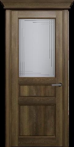 CLASSIC 532 Дуб Винтаж стекло Грань
