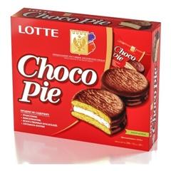 """Печенье """"LOTTE"""" Choco Pie 12шт 336г"""
