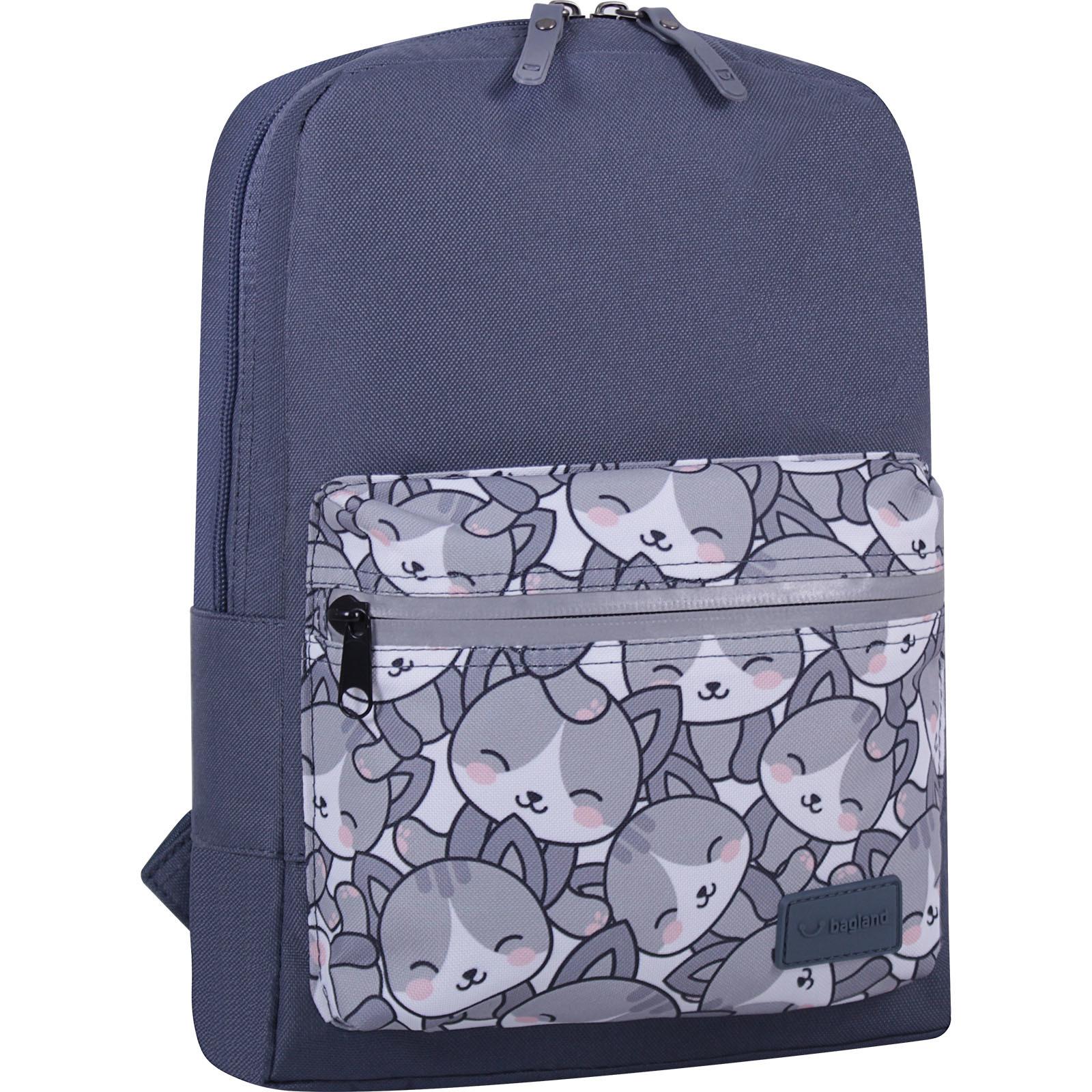Детские рюкзаки Рюкзак Bagland Молодежный mini 8 л. серый 756 (0050866) IMG_6755_суб756_-1600.jpg
