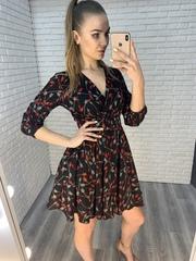 темное летнее платье nadya