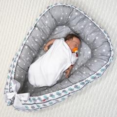 Farla. Кокон-гнездо для младенца Nest Морской сон вид 2