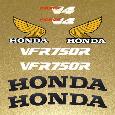 Набор виниловых наклеек на мотоцикл HONDA VFR 750R C30 1987