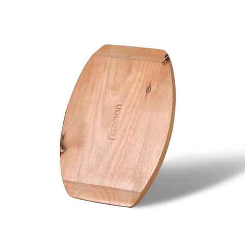 4131 FISSMAN Сковорода 16 см на деревянной подставке,  купить