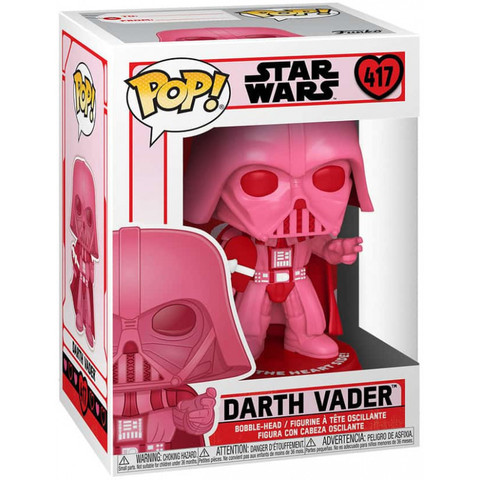 Funko POP! Bobble: Star Wars: Valentines: Darth Vader with Heart || Дарт Вейдр с любовью