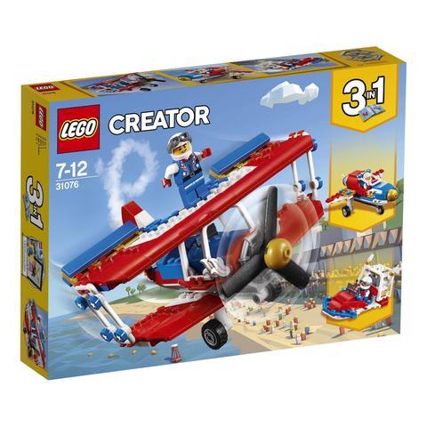 LEGO Creator: Самолёт для крутых трюков 31076 — Daredevil Stunt Plane — Лего Креатор Создатель