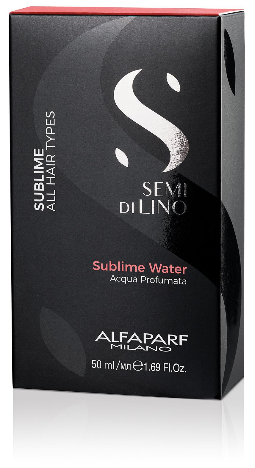 Парфюмированная вода для волос и тела SUBLIME WATER, 50 МЛ ALFAPARF 16895