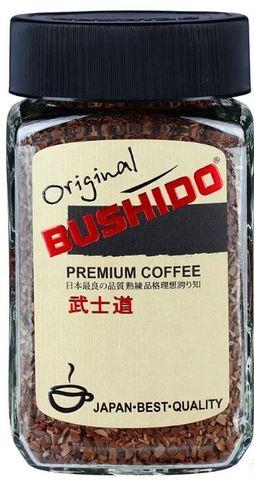 """Кофе сублимированный """"Bushido"""" Оригинал ст/б 100г"""